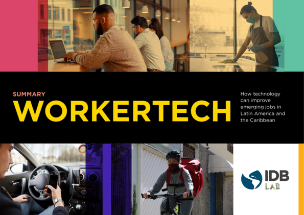 WorkerTech: How Technology Can Improve Emerging Jobs in Latin America and the Caribbean (Summary)